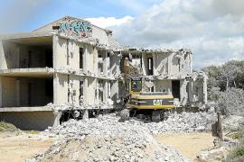 Abriss von Ses Covetes kommt voran