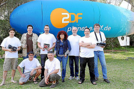 ZDF-Zeppelin filmt in den kommenden Wochen Mallorca ab