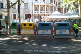 Zwei von drei Bürgern in Palma trennen Müll