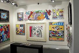 Die größte Galerie der Insel setzt unter anderem auf Pop-Art.