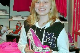 """Michelle Meng, 12 Jahre, findet die Katzenberger """"einfach hübsch und so lustig."""