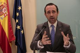 José Ramón Bauzá bei der Bekanntgabe seiner Personalpläne.