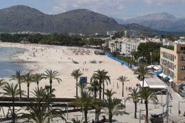 Streit um Asphalt am Strand von Alcúdia