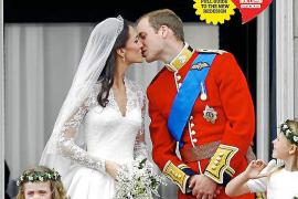 Die erste Titelseite mit dem neuen Layout, präsentiert zur Hochzeit von Prince William und seiner Kate im April 2011.