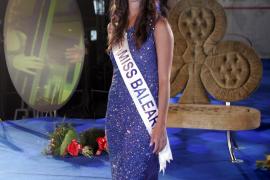 Verónica Hernández im Sommer 2009 als frischgekürte Miss Baleares.