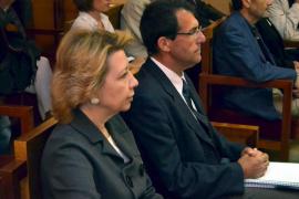 Maria Antonia Munar und Miquel Nadal auf der Anklagebank.