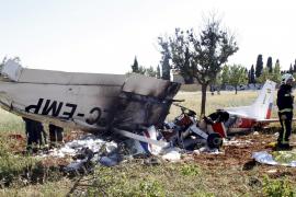 Flugzeugabsturz auf Mallorca