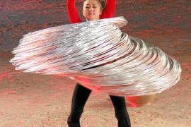 """Spektakulär war die Hula-Hoop-Wette bei der Sommer-Ausgabe von """"Wetten, dass ..?"""" 2009."""