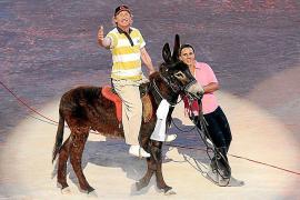 Hoch zu Ross, beziehungsweise hoch zu Esel: Blödel-Urgestein Otto Waalkes flogen 2009 die Sympathien zu.