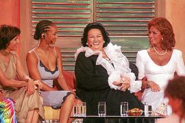 1999 saßen unter anderem Birgit Schrowange, Tyra Banks, Montserrat Caballé und Sophia Loren auf der Couch.