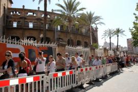 Großer Andrang bei Vorverkauf am Donnerstag in Palma.