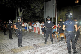 Polizeipräsenz zeigt tatsächlich Wirkung, berichten auch Playa-Anwohner - nur sei sie meist nicht von Dauer.