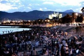 Sant-Joan-Nacht füllte die Strände
