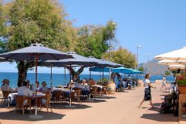 Die Meerespromenade von Colònia de Sant Pere bei Artà ist eine der gepflegtesten auf ganz Mallorca.