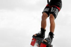 Neuer Extremsport auf Mallorca.