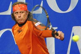 Training mit Tennis-Legende
