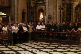 Sizilianische Szenen auf Mallorca: Kurz nach der Beerdigung schlug die Polizei zu.