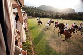 Großes Polo-Turnier auf Mallorca.