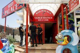 An der Playa de Palma sorgte die Polizei-Aktion für Aufsehen.