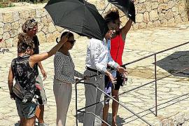 Dreharbeiten auf Mallorca.