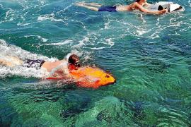 Seabob, mit Gesichtsmassage inklusive