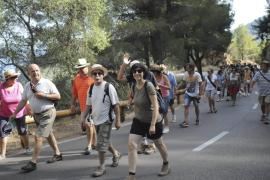 Am Wochenende hatten Bewohner von Estellencs für die baldige Wiedereröffnung der Straße demonstriert.