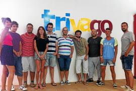 Das Trivago-Team in Spanien.