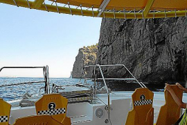 Das Taxi Boat fährt zweimal am Tag von Port de Sóller nach Cala Tuent - entlang der spektakulären Westküste.