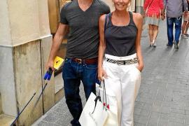 Joseph Fiennes auf Shopping-Tour in Palma