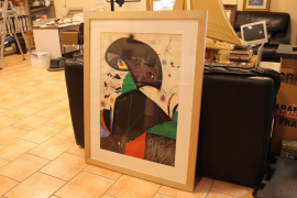 Verschwundener Miró wieder aufgetaucht