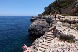 Dramatische Rettungsaktion in Cala Figuera