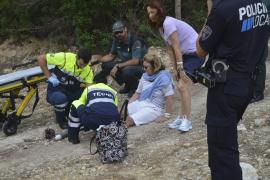 Deutsche Wanderin gerettet