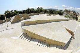 Sandstein, wohin man blickt: die Festungsanlage nach der Restaurierung.