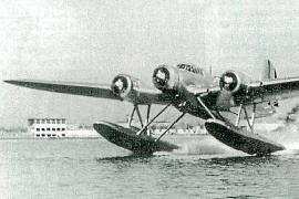 Ein Wasserflugzeug vom Typ Fiat Cant Z. Mit einer solchen Maschine flog Ramón Franco vor 75 Jahren in den Tod.