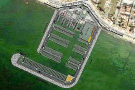 Die Erweiterungspläne zeigen, wie der Sporthafen von El Molinar weiter wachsen soll.