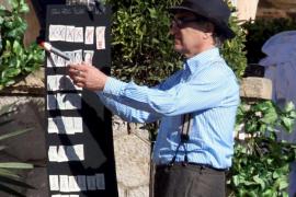 Regisseur Wim Wenders auf Mallorca