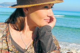 Angekommen: Jenny Jürgens genießt Mallorca. Sie pendelt zwischen Sóller und Düsseldorf.