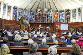 Die Abschiedsfeier fand in der Kirche la Porciúncula statt.