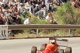 Ein Bild aus dem Jahr 1998, als Helmut Kalenborn einen seiner drei Siege am Puig Major holte.