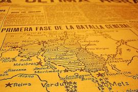 """Die Tageszeitung """"Ultima Hora"""" berichtete über das Kriegsgeschehen."""