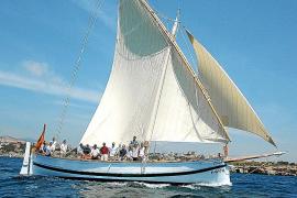 """Die """"Balear"""" war das erste Boot, das in der Werkstatt des Inselrats in monatelanger Fleißarbeit restauriert wurde."""