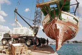 """Das Fischerboot  """"Balear"""" war in erbärmlichem Zustand, bevor es zum schützenswerten Kulturgut erklärt wurde."""