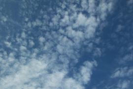 Aber auch das ist möglich: So sah der Himmel am Freitagvormittag über Palma aus.