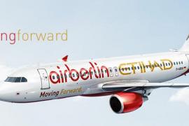 Air Berlin und Etihad Airways präsentieren Flugzeug im gemeinsamen Design