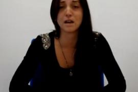 Natalia Rodríguez, die Mutter der Vermissten Malén Ortiz.