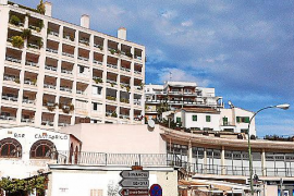 Der Standort des ehemaligen Hotels in der Gegenwart.
