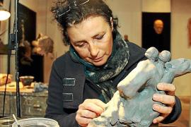 Maria Isabel Ballester hat das Künstlerdasein quasi mit der Muttermilch aufgesogen.
