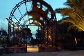 Gartenanlage des Schlosses.