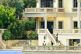 Das Anwesen des flüchtigen Russen in Sol de Mallorca.