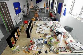 Das Atelier von Andrés Planas.